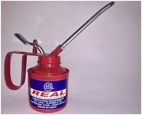 REAL OIL CAN (Wesco Type) with Rigid Spout 1/2 Pint