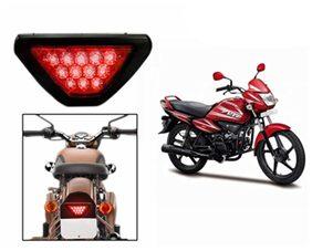 Red 12 Led Brake Light With Flasher-Hero Splendor_Nxg