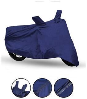 Fabtec  Blue Bike Cover For Bajaj Discover 125T Bike Body Cover & Dustproof Bike Cover