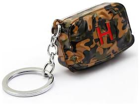 Relicon PUBG Game Emergency First Aid Health Kit Gamer (R-31) Military Metal Keychain for Car Bike Men Women Keyring