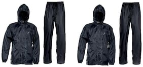 Relisales Complete Rain Suit With Carry Bag (Set Of 2)