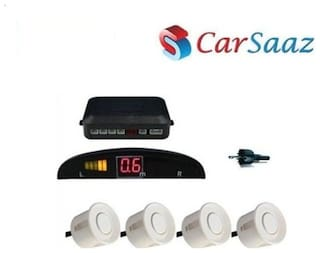 Reverse Parking Sensor - White for HYUNDAI SANTRO XING