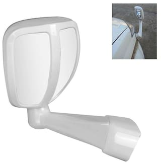 RIDAR Car Front Left Side White SUV Fender Wide Angle Side Rear View Mirror for Renault Duster