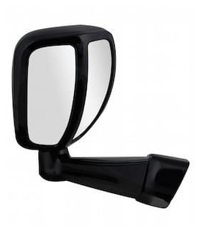 RIDAR Car Front Fender Wide Angle Side Rear View Mirror-Black for Mahindra Bolero T-4