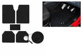 RIDAR High Quality Anti Slip Nomad Style Noodle Car Floor Mats Foot Mats 5pcs Black for Maruti Swift Dzire