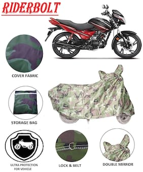 Riderbolt Dust-Proof Hero Glamour i3s Body Cover(Double Pocket)