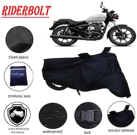 RIDERBOLT Water-Proof Royal Enfield Thunderbird 350 Body Cover(Double Pocket, Black)