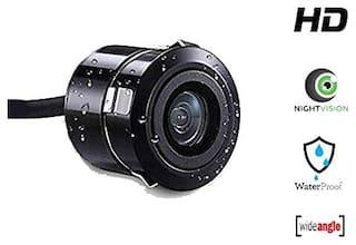 Riderscart 2nd Generation Universal Waterproof HD Car Rear View Night Camera (Black)