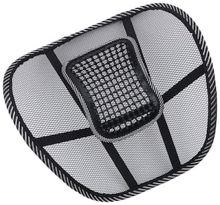 Riderscart Universal Back Rest with Mesh Support Posture Support & Lumbar Support Pillow,Back Pain Support Cushion Seating Pad with 6 Month Warranty (Pack 1)