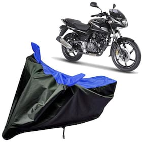 Riderscart Water Proof Black and Blue Bike Cover For Bajaj Pulsar 180