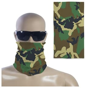 Right Concepts AdvtUnisex Bandana Face Mask /Head Wear For Bike Riders/Outdoors (Multi-Colored;17 X 9 Inches)