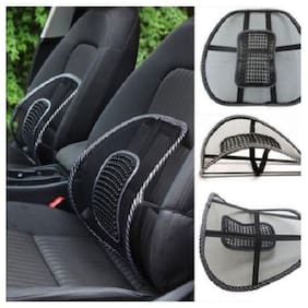 Right Traders Lumbar Back Brace Support Office Home Car Seat Chair Cushion Black (pack of 1)