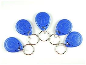 Robo India RF-TAG-KCH Rfid Tag with Keychain, 5 pcs