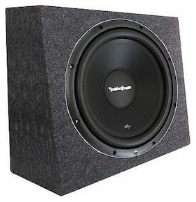 "Rockford Fosgate R1S4-10 10"" Prime 300 Watt 4-Ohm SVC Subwoofer + Sealed Box"