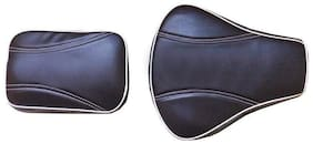 Royal Enfield Motorcycle Split Seat Cover (Black) for Classic 350cc & 500cc