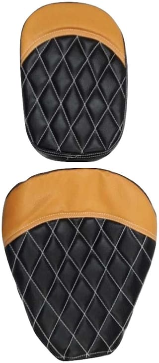 Royal Enfield Classic 500 Seat Cover Mustard