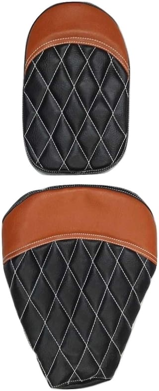 Royal Enfield Classic 500 Seat Cover Brown