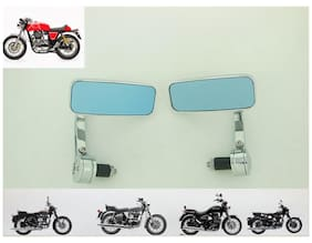 Royal Erado Royal Bikes Classic Electra Stand Cafe Racer Bar End Mirror Rectangle