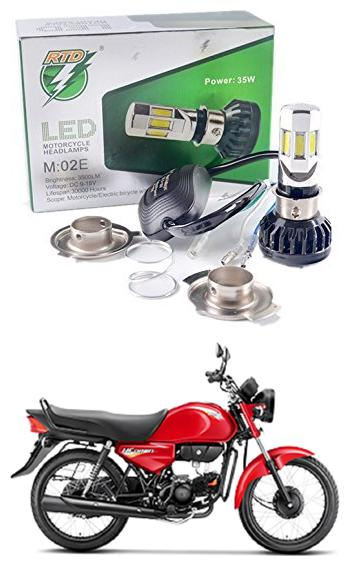 Buy Rtd Light 35w 2500lm For Hero Hf Deluxe All Models Online At Low Prices In India Paytmmall Com