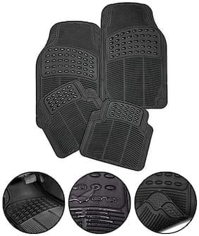 S4D 3D Car Floor,Foot Mats Black - Rubber Universal Car018