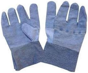 Sai Safety Jeans Safety Hand Gloves (Pack of 25 Pairs of Gloves )