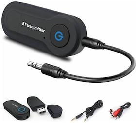Sami GT-09S USB Bluetooth Audio Transmitter Portable Stereo Music Adapter - Black
