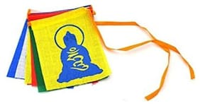 Scoria Buddha Tibetian Buddhist Prayer Car Flags for Audi A8