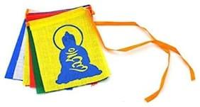 SCORIA Buddha Tibetian Buddhist Prayer Car Flags For Audi Q7