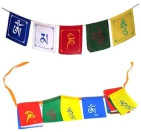 Scoria Combo Tibetian Buddhist Prayer Flags for Motorbike & Car for Audi A6