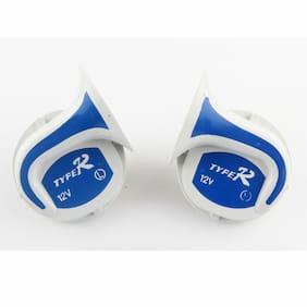 SCORIA Mocc Bike Horn 18 in 1 Digital Tone Magic Horn Set of 2 for Bajaj Pulsar 135 LS