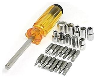 Screwdriver Case 28 pc - Multipurpose use Kit