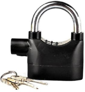 Security Electronic Alarm Lock For Home/Bike/Cars/Office Safety Lock  (Black) 1Pc