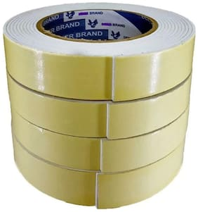 SelectionWorld  Manual Double Sided Foam Tapes (Set Of 4)