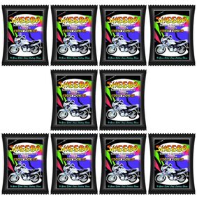 Sheeba Scooter And Bike Shine Pack Of 10 Pouch (150 Ml)