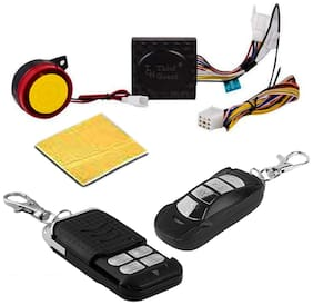 SHOP4U Anti-Theft Bike Alarm Kit with Remote for All Bikes and Scooties