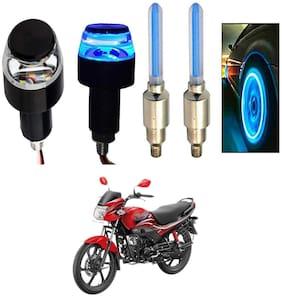 SHOP4U Handlebar Light With Wheel Light for Hero Passion Pro (Multi)