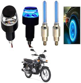 SHOP4U Handlebar Light With Wheel Light for Bajaj Platina Comfertec (Multi)