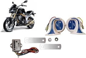 SHOP4U Horn for  Mahindra Mojo ( 18 in 1 Digital Tone Magic Horn Set of 2 )