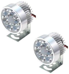 SHOP4U 6 LED BIke Fog Light For Honda CB Shine
