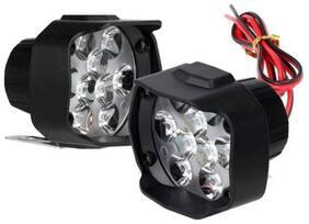 SHOP4U 9 LED BIke Fog Light For Hero HF Deluxe