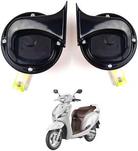 SHOP4U Skoda Type Horn with High Sound for Honda Aviator