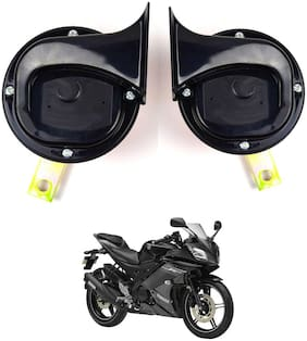 SHOP4U Skoda Type Horn with High Sound for Yamaha YZF R15S