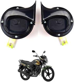 SHOP4U Skoda Type Horn with High Sound for Yamaha Saluto