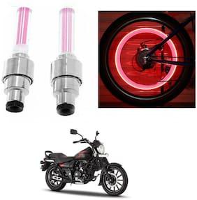 SHOP4U Skull Wheel/ Tyre Light With Motion Sensor Bajaj Avenger Street 150 ( Pink;Pack of 2 )