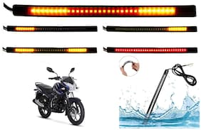 SHOP4U SMD Flexible LED Strip Tail Light Brake Light with Turn Indicator Signals for Bajaj Discover 150S
