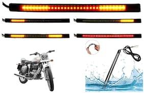 SHOP4U SMD Flexible LED Strip Tail Light Brake Light with Turn Indicator Signals for Royal Enfield Bullet 350