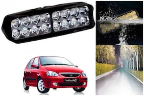 SHOP4U Waterproof 16 LED Fog Light Head Lamp for Tata Indica V2 ( Set of 1 )