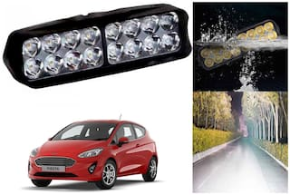 SHOP4U Waterproof 16 LED Fog Light Head Lamp for Ford Fiesta ( Set of 1 )
