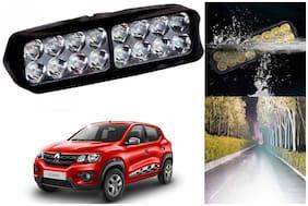 SHOP4U Waterproof 16 LED Fog Light Head Lamp for Renault Kwid ( Set of 1 )