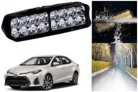 SHOP4U Waterproof 16 LED Fog Light Head Lamp for Toyota Corolla ( Set of 1 )